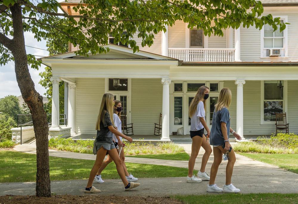 Amid Campus COVID Spread Georgia Colleges Continue Push For In-Person Classes