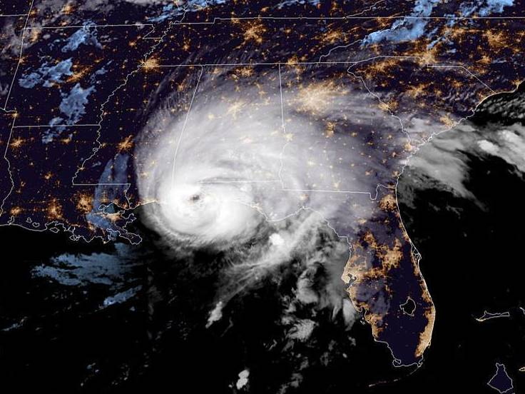 Hurricane Sally Makes Landfall As A Category 2 Near Alabama-Florida Line