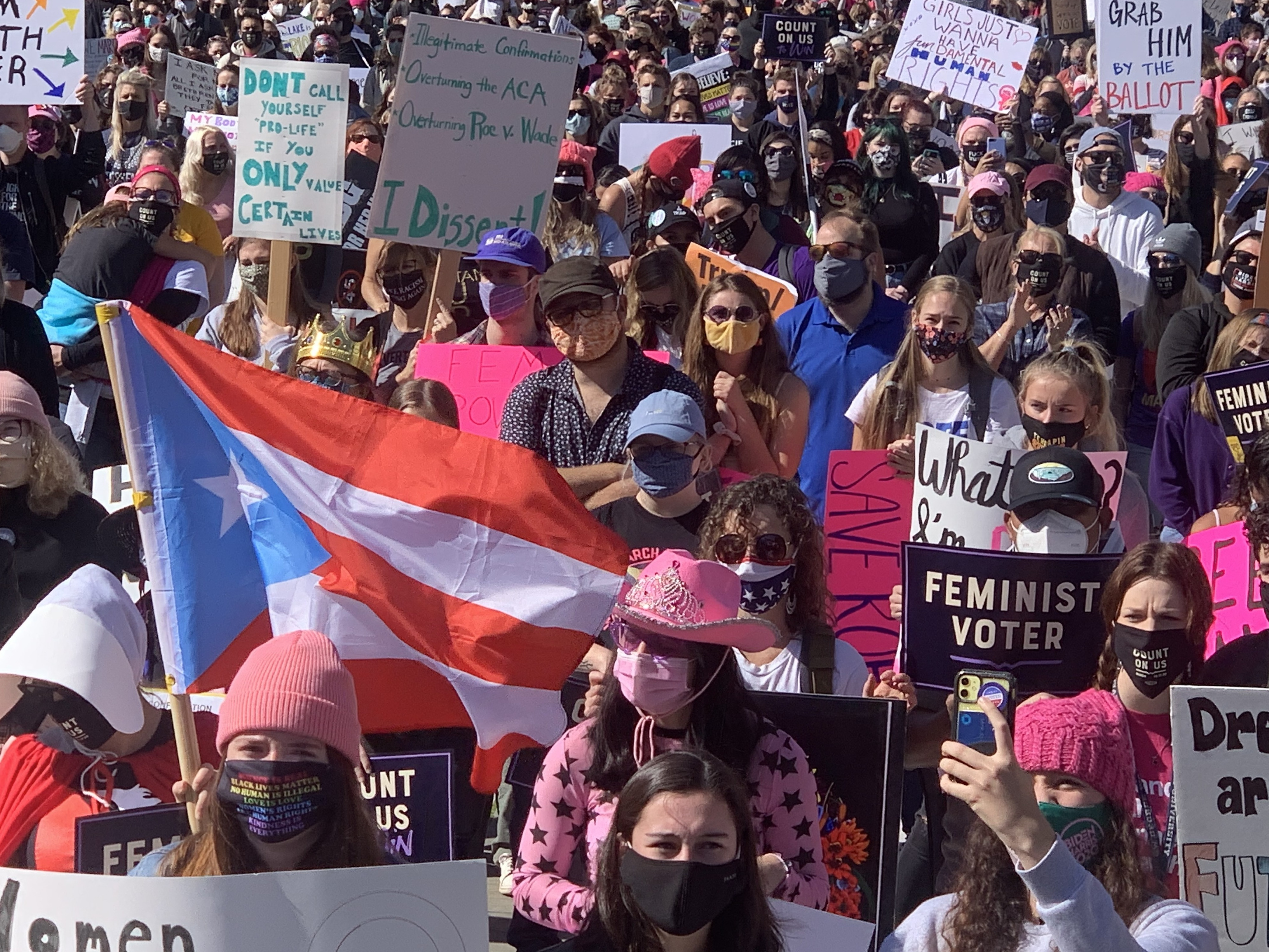 Women's Marches Being Held In Washington, D.C., Cities Nationwide