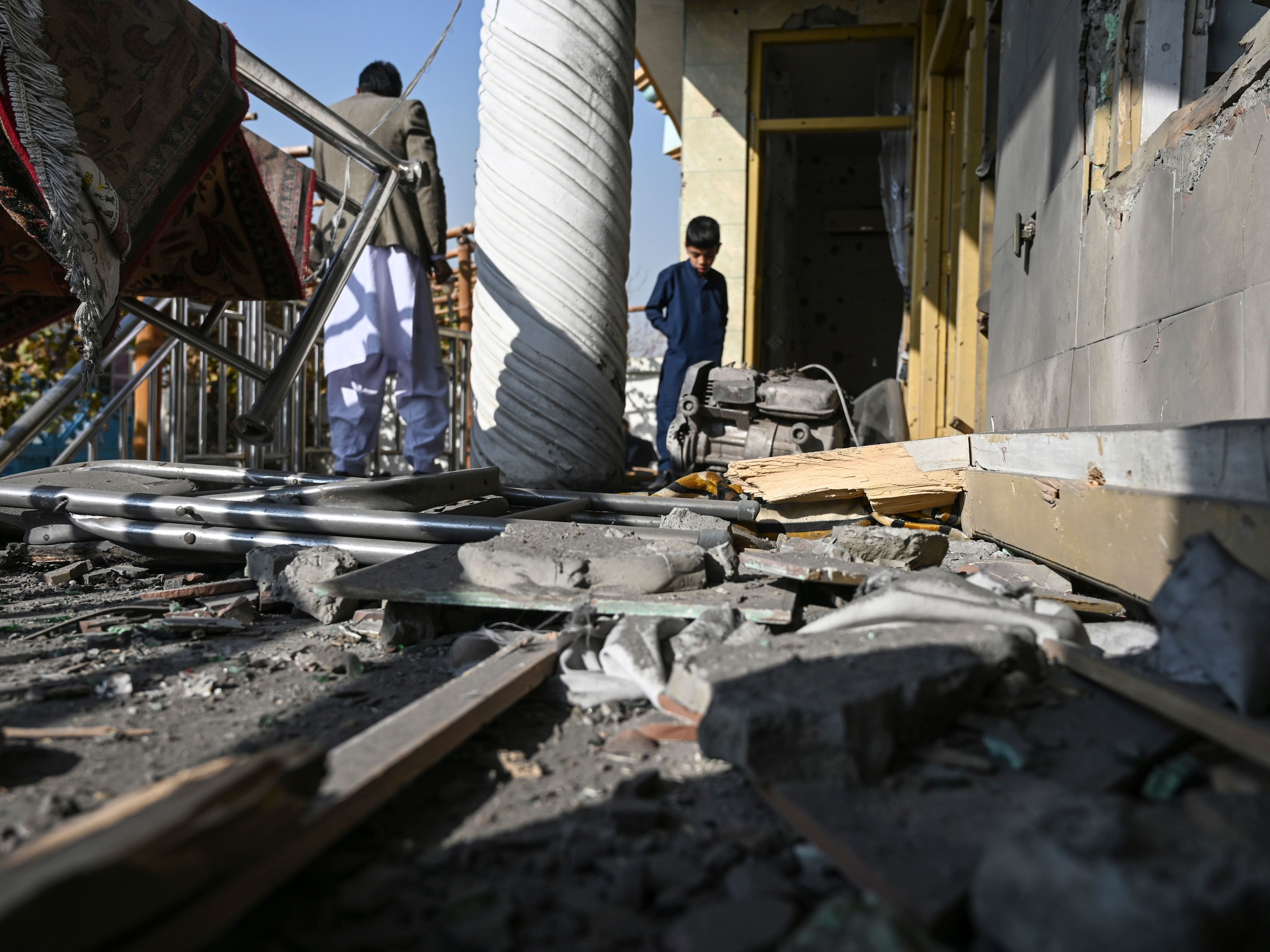 Kabul Battered By Rockets Ahead Of Pompeo's Planned Talks With Taliban