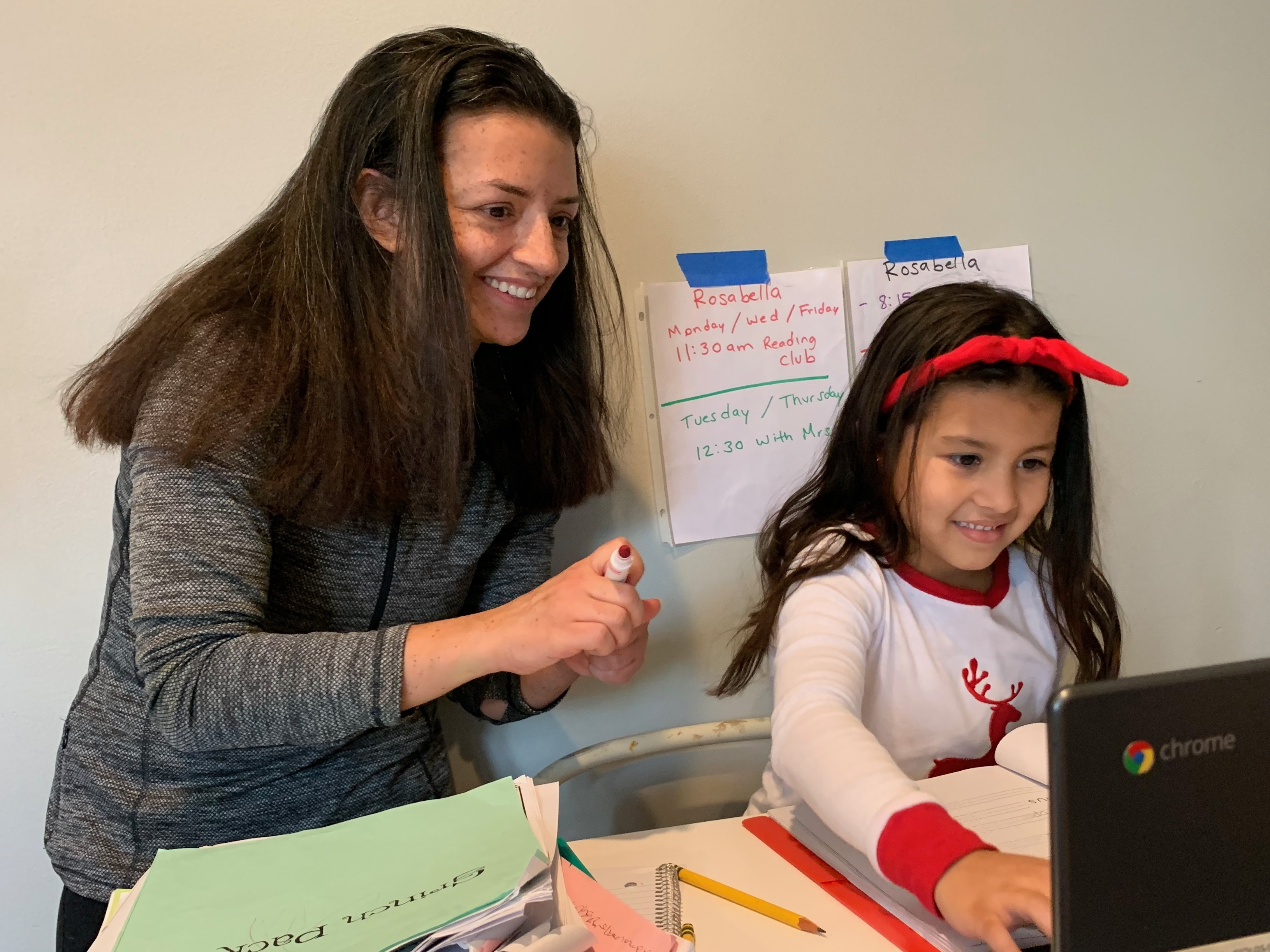 Parents With Disabilities Face Extra Hurdles With Kids' Remote Schooling