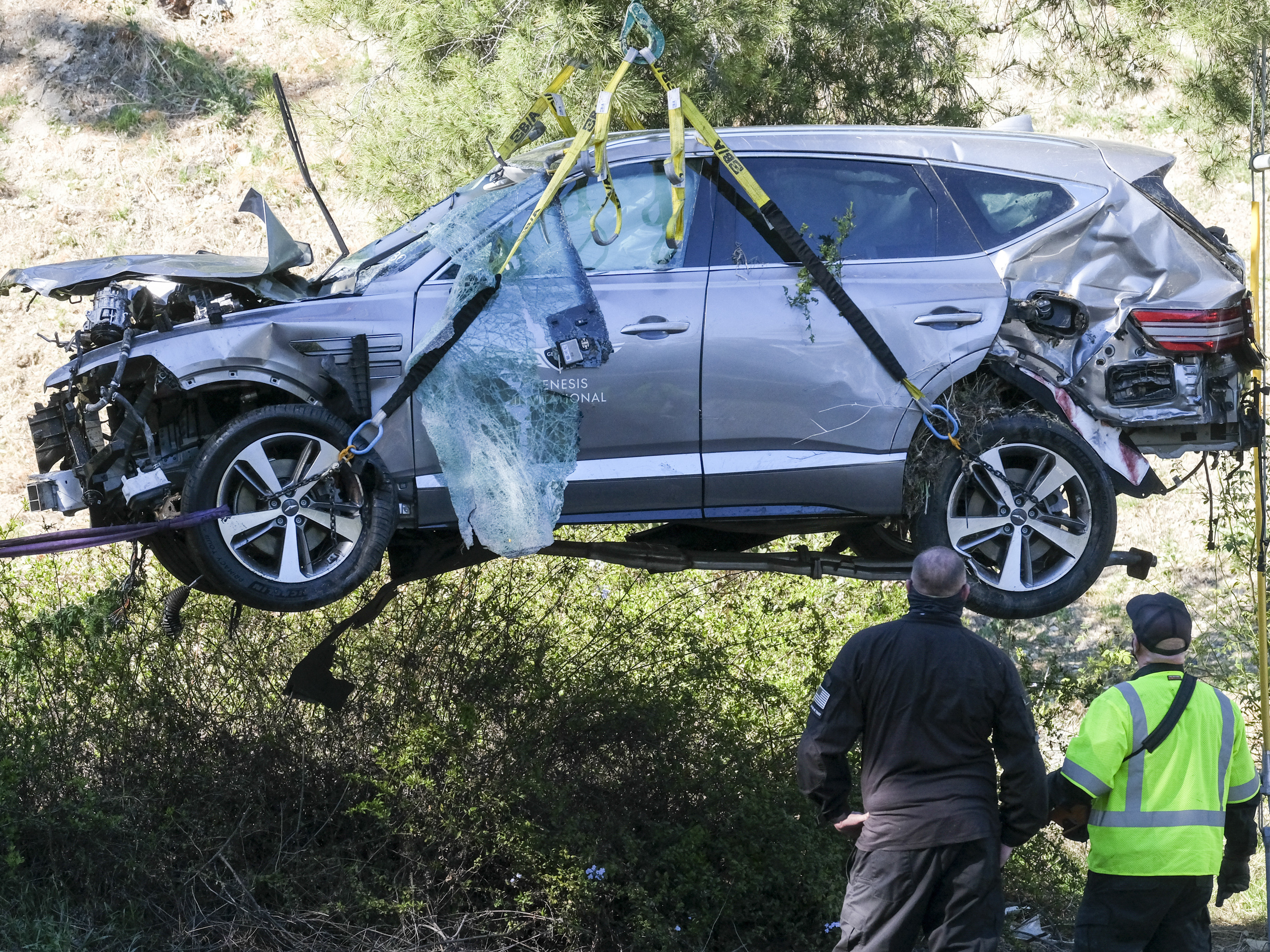 Tiger Woods Crash Caused By Unsafe Speed, LA County Sheriff Says