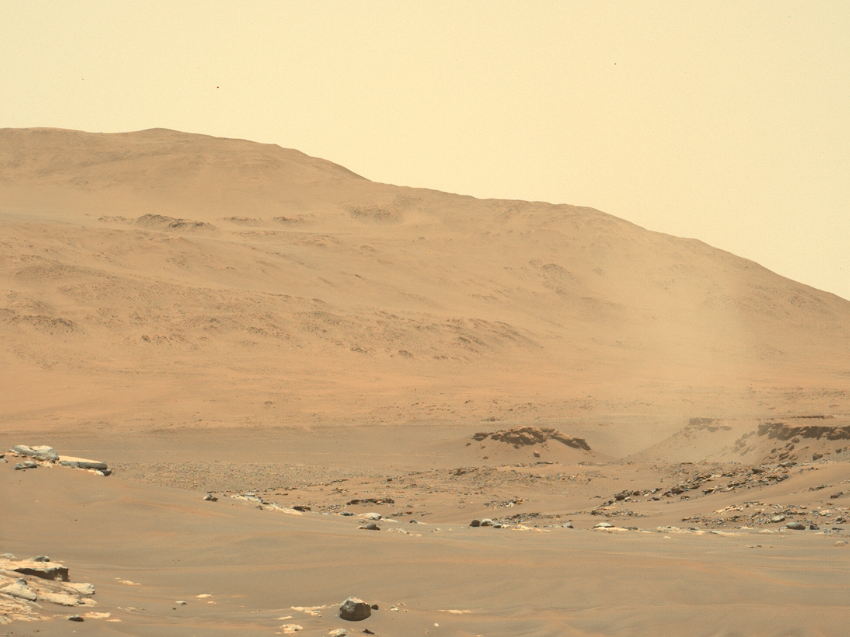 Listen to the otherworldly sound of Martian wind