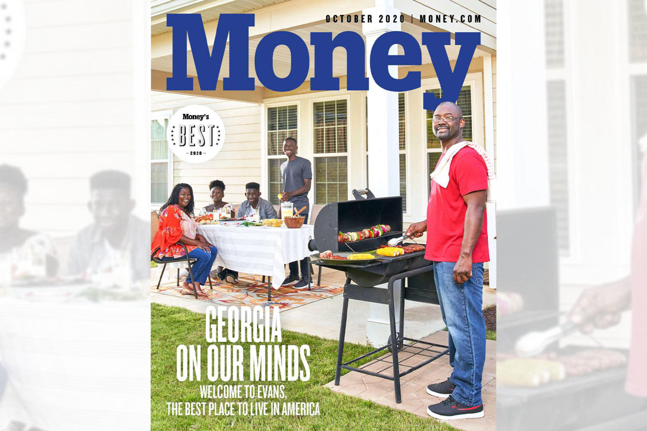 "Money Magazine named Evans, Ga., the ""Best Place to Live in America"" in their most recent issue."