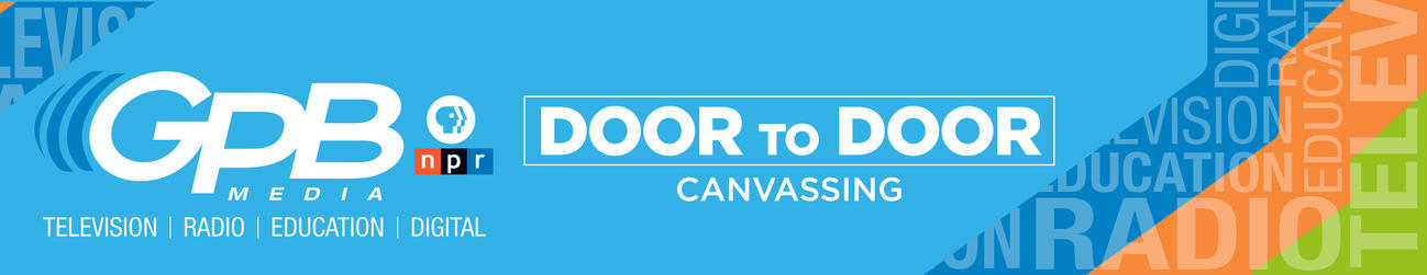 GPB's Door to Door Membership Campaign