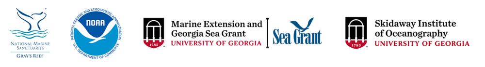 Gray's Reef Partner Logos