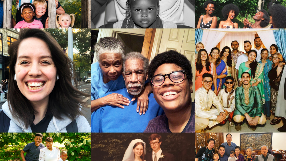 """Key Art for PBS AMERICAN PORTRAIT """"Family of Us"""""""