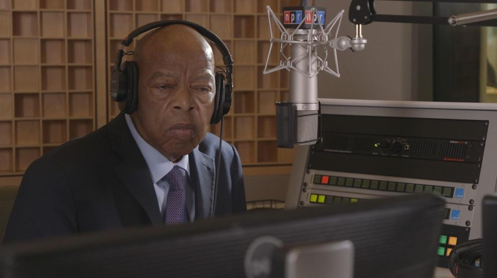 """John Lewis during an interview for """"The Bitter Southerner"""" podcast in late 2019."""