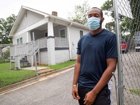 The yard of Terboris Barnes contains a substantial amount of lead, but Barnes recently learned EPA plans to do nothing for his property.