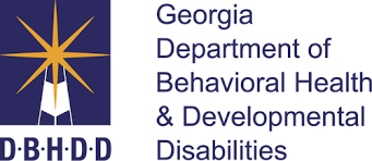Georgia Department of Behavioral Health and Developmental Disabilities logo.