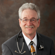 Dr. Earl Martin, a family medicine physician who practices in Folkston.