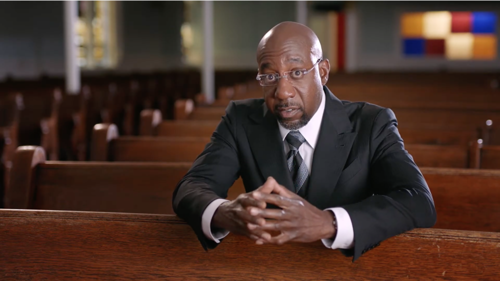 Democratic U.S. Senate candidate Raphael Warnock has released his second campaign ad.