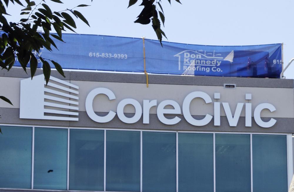 The CoreCivic headquarters in Tennessee.
