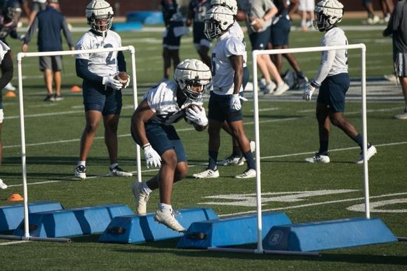 Georgia Southern Football Practice.