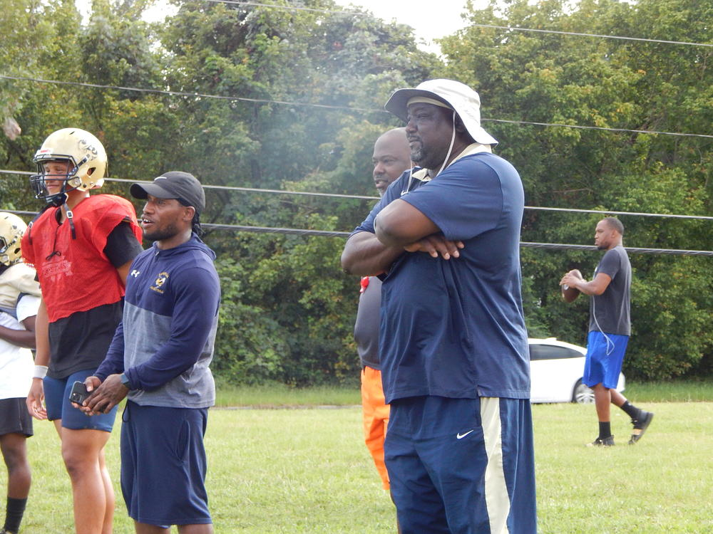 Hapeville coach Winston Gordon