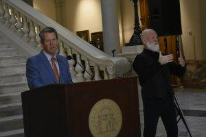 Gov. Brian Kemp urges Georgians to participate in the 2020 census.