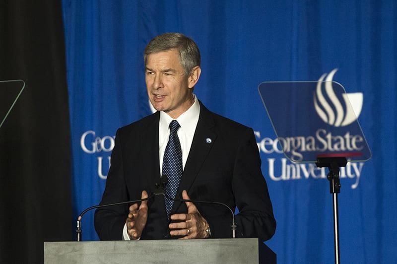 GSU President Mark Becker To Leave Presidency In 2021