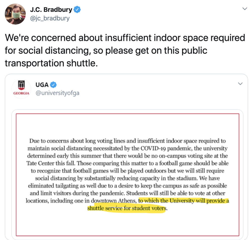 Bradbury tweet