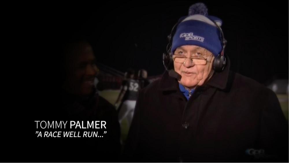 "Tommy Palmer ""A Race Well Run.."""