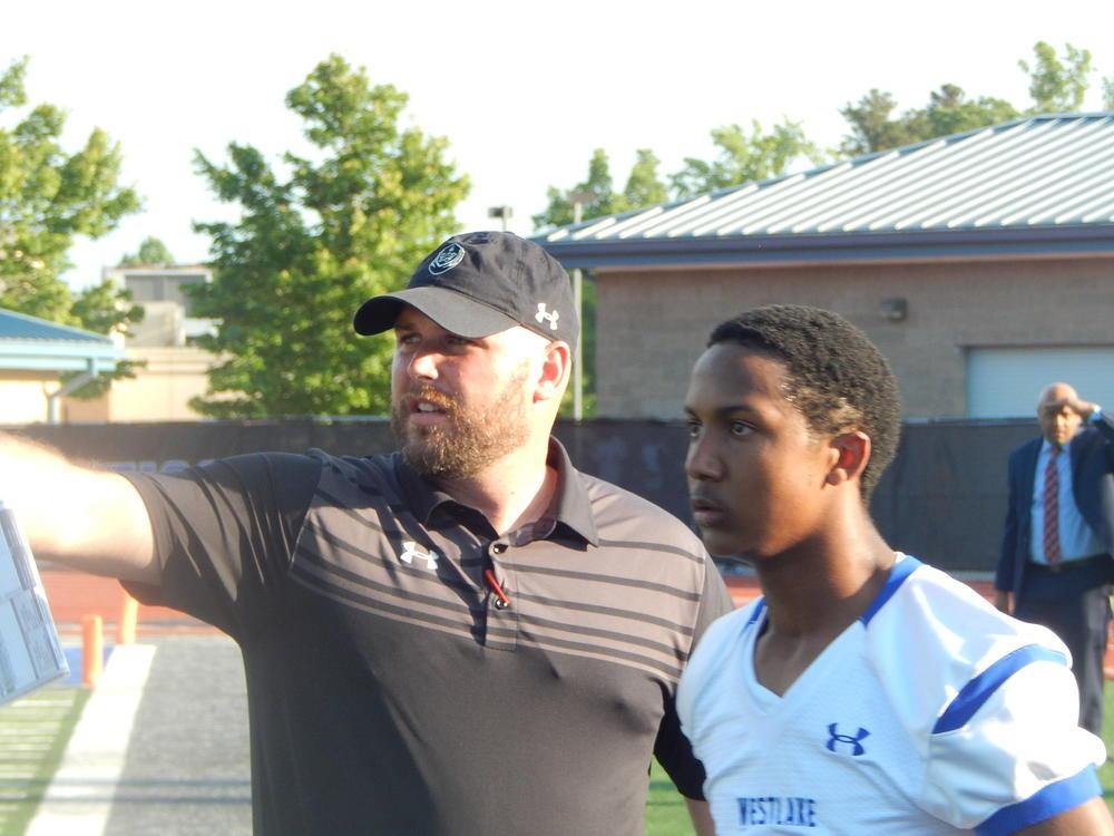 Westlake coach Bobby May