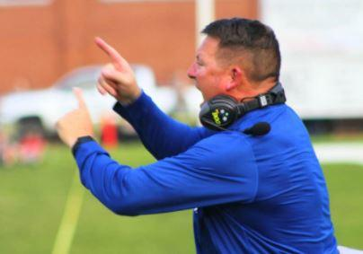 Fannin County coach Chad Cheatham