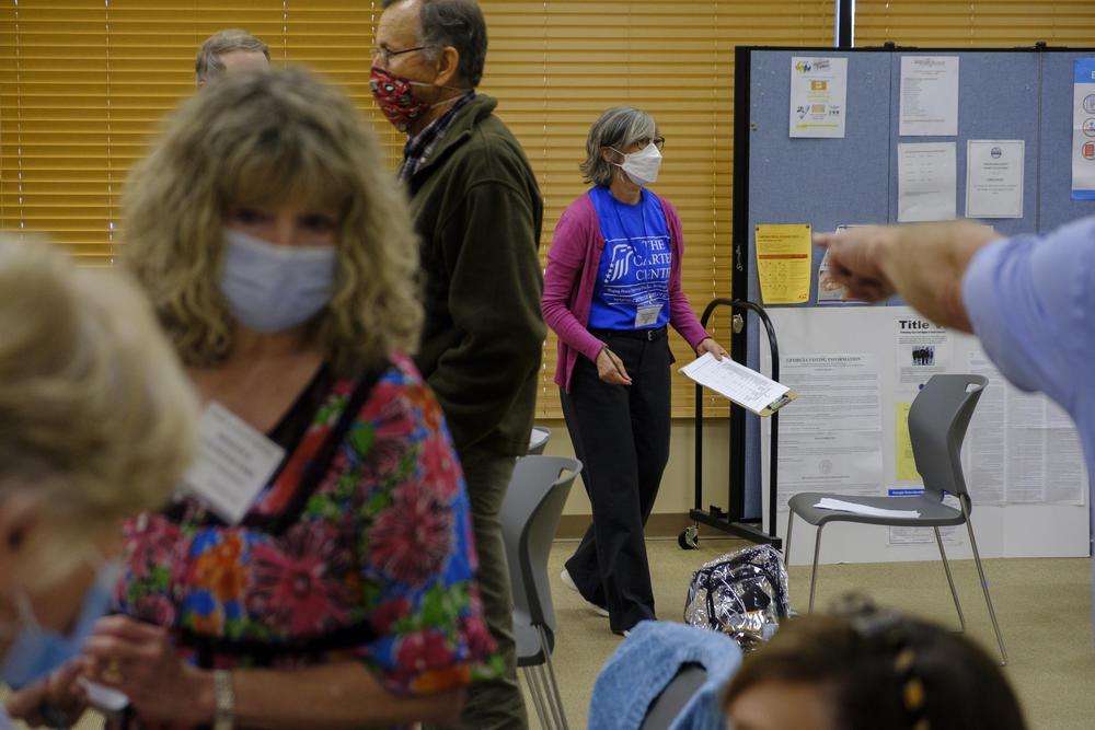 Carter Center Election Monitors Fan Out Across Georgia