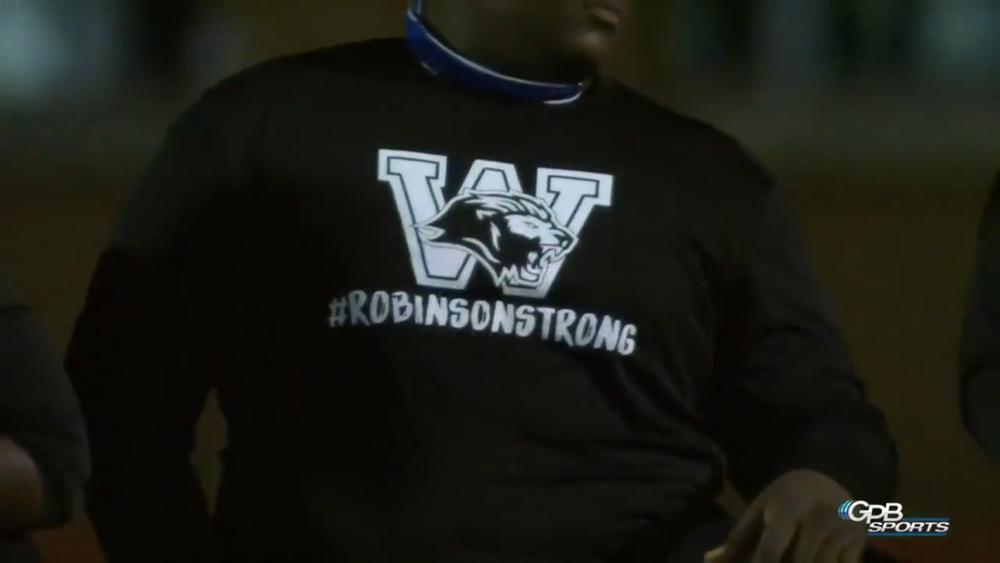 #RobinsonStrong shirt