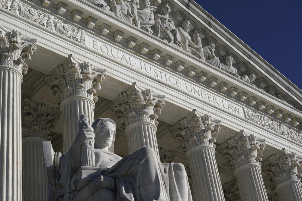 The Supreme Court in Washington on the day after the election, Wednesday, Nov. 4, 2020.
