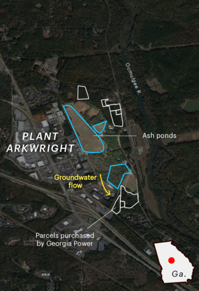 Land around Plant Arkwright
