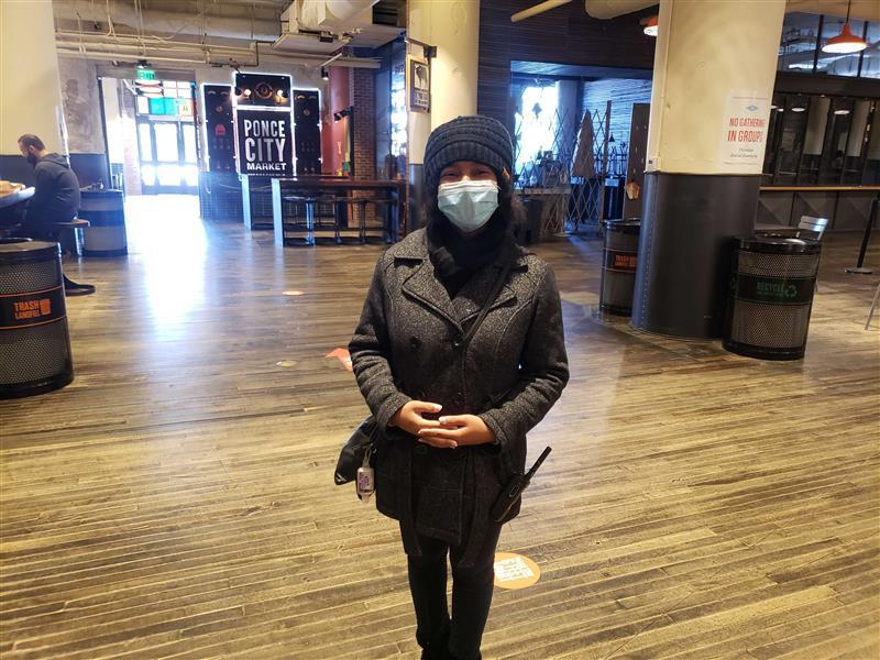 Ponce City Poll Worker 2