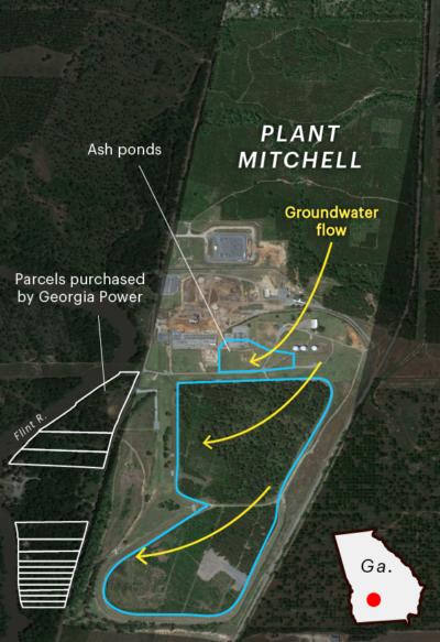 Land around Plant Mitchell.