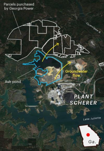Land around Plant Scherer