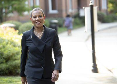 """Spelman President Mary Schmidt Campbell with advisement from a 50-person Task Force on the Path Forward has announced the school's plans to reopen with a """"low-density, hybrid"""" model for Spring 2021."""