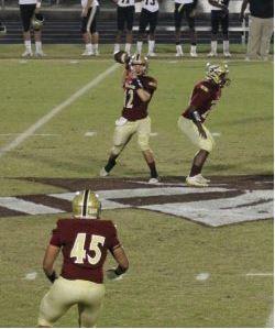 Vidalia quarterback Bryce Davis