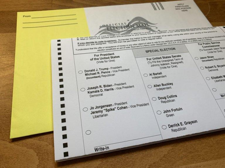 Georgia Senate Republicans said Tuesday they will push for legislation in 2021 putting an end to a no excuse absentee ballot law passed in 2005.