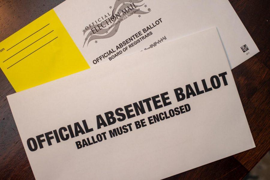 The last day to request an absentee ballot in Georgia's Jan. 5 U.S. Senate runoff is Jan. 1.