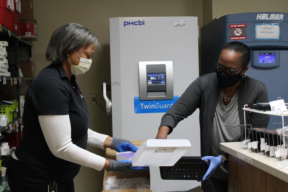 COVID-19 vaccine from Pfizer arrives in Coastal Georgia.