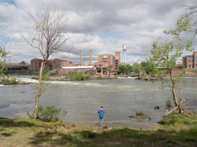 The segment of the Chattahoochee River that runs through Columbus is a popular spot for whitewater rafting and fishing. The Columbus Water Works is challenging new state requirements meant to protect water quality.