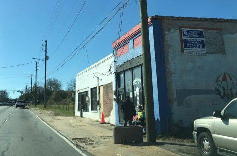 Harrell's & Son's Barbershop on Martin Luther King Jr. Blvd. is one of the few remaining businesses left in the old Greenwood Bottoms district.