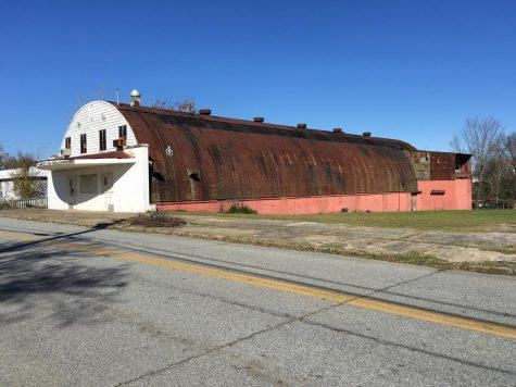 The old Roxy Theatre is on the list of Historic Macon's Fading Five in hopes someone will buy and restore the old Quonset hut building.