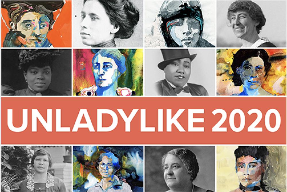 Unladylike2020 logo