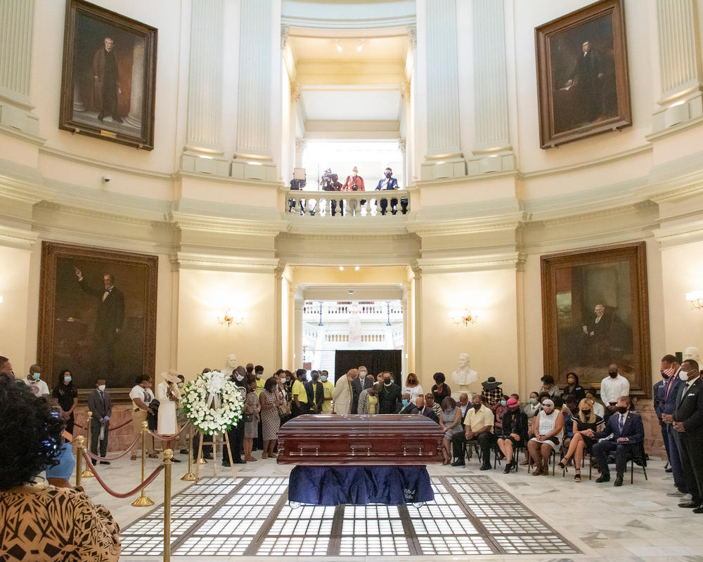 Funeral for Rev. C.T. Vivian at the State Capitol