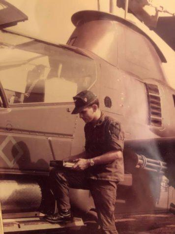 Robert Reichert flew helicopters with the U.S. Army during the Vietnam War.