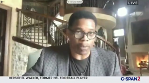 Former University of Georgia football player and Heisman Trophy winner Herschel Walker said he opposes reparations.