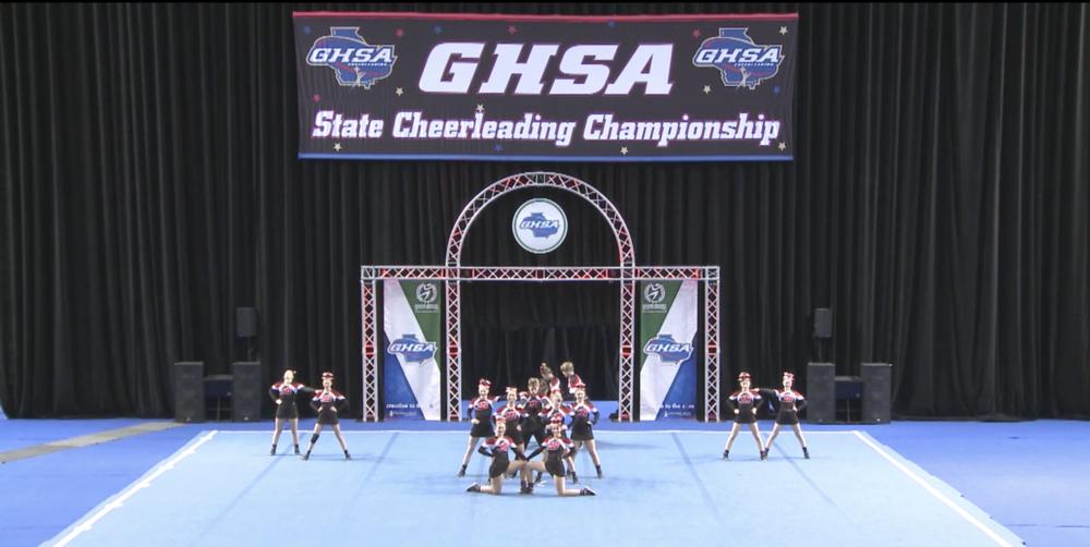 GHSA State Cheerleading Championship photo