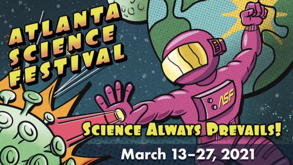 Atlanta Science Festival graphic