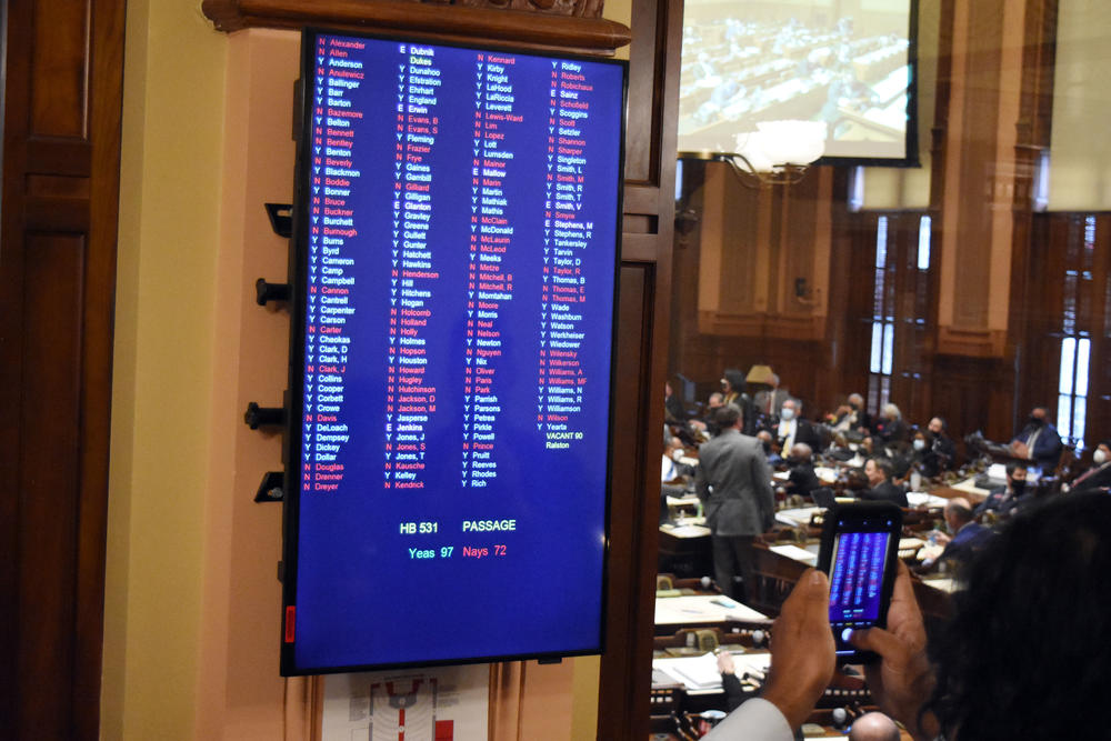 The Georgia House passed HB 531, an omnibus elections bill that would limit absentee and early voting access for Georgians.