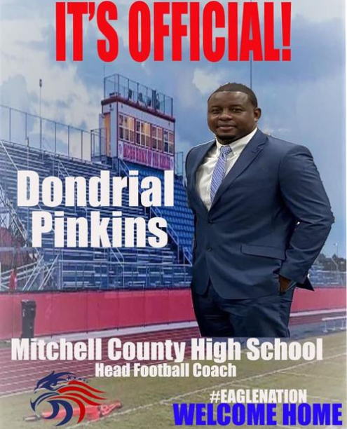 Mitchell County Coach Dondrial Pinkins