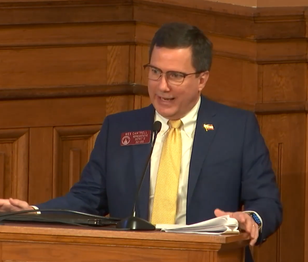 Ga. House Rep. Wes Cantrell in March 2021