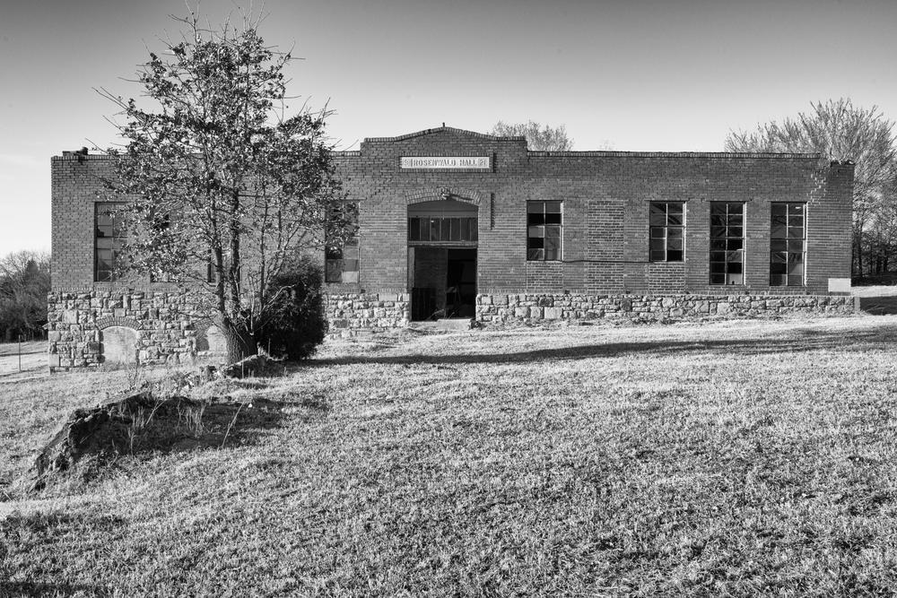 A Rosenwald school in Seminole County, Oklahoma.